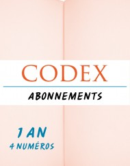 Abonnement revue CODEX 1 an